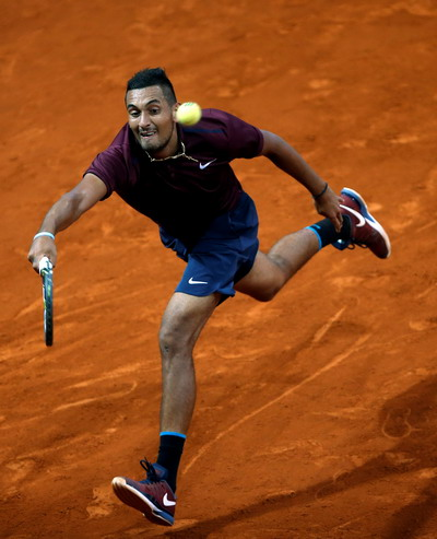 Kyrgios suýt tái lập chiến thắng trước Nadal như ở Wimbledon 2014