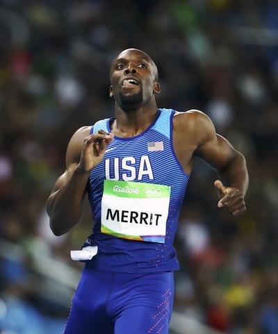LaShawn Merritt là đối thủ lớn ở cự ly 200m