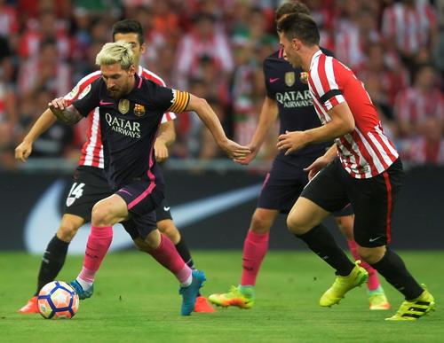 Messi ở trận đấu thứ 350 với Barcelona