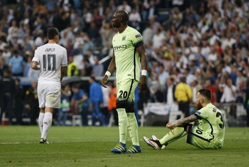 Man City thất bại thảm hại dưới tay Real Madrid ở bán kết Champions League