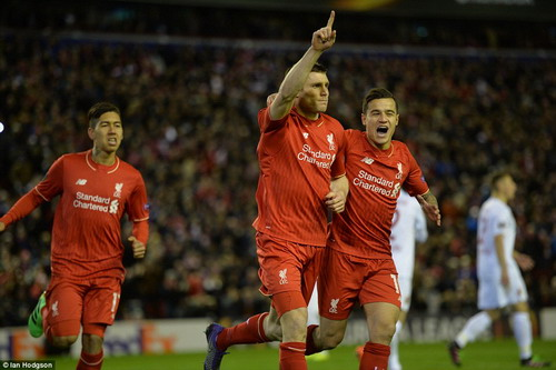 Liverpool từng bước hồi sinh dưới tay HLV Jurgen Klopp