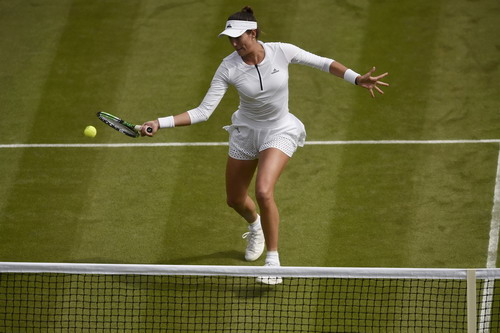 Nhà vô địch Pháp mở rộng Muguruza chia tay sớm Wimbledon