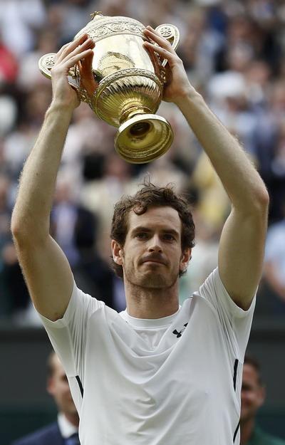 Andy Murray lần thứ nhì đăng quang ở Wimbledon
