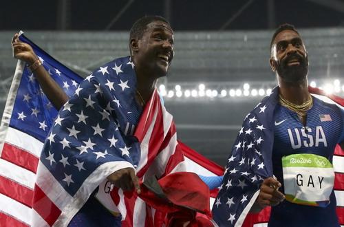 Gatlin và Gay ở kỳ Thế vận hội cuối cùng