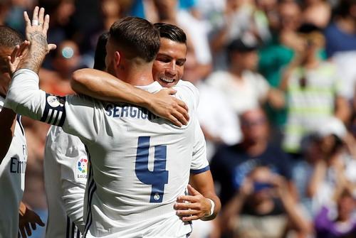 Niềm vui lên đầu bảng của Real Madrid