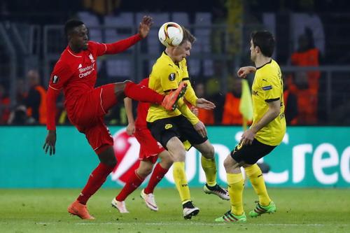 Divock Origi mở tỉ số cho Liverpool