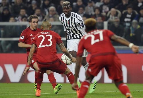 Paul Pogba hứa hẹn một trận lượt về không êm ả cho Bayern