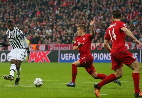 Paul Pogba mở tỉ số sớm cho đội khách Juventus