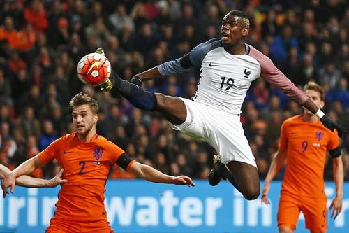 Paul Pogba (19) sẽ là ngôi sao lớn tại Euro 2016