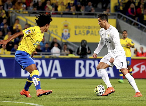 Ronaldo kém duyên ghi bàn trước Las Palmas
