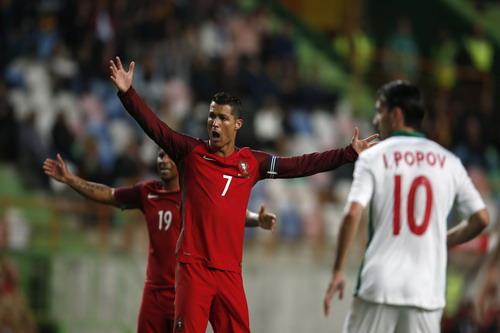 Bồ Đào Nha của Ronaldo thua trận trước Bulgaria