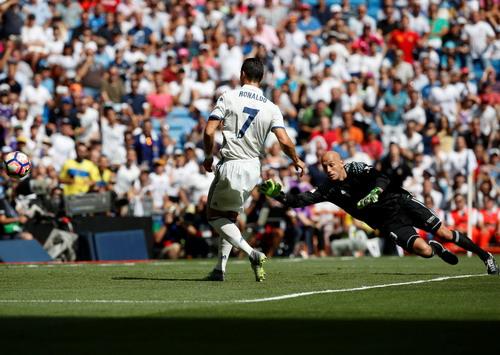 Ronaldo trở lại và ghi bàn