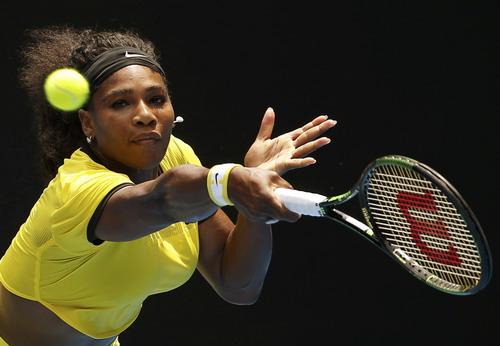 Serena chứng tỏ phong độ cực tốt, đủ sức đánh bại mọi đối thủ
