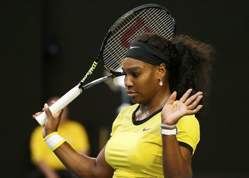 Thất vọng Serena