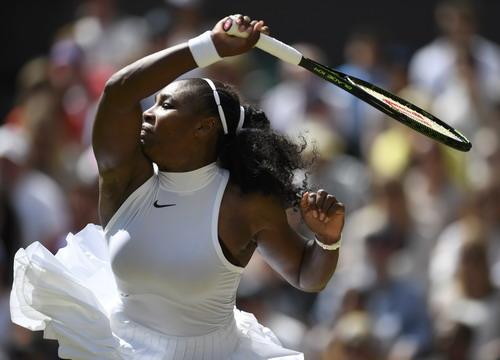 Serena Williams quá mạnh so với các đối thủ