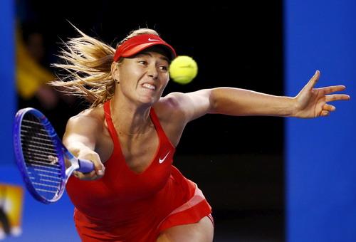 Sharapova dự giải gần nhất tại Úc mở rộng 2016...