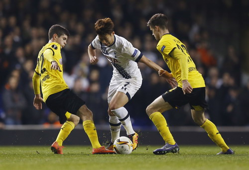 Son Heung-min ghi bàn danh dự cho đội bóng nước Anh