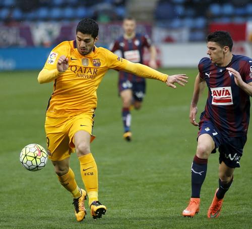 Suarez có bàn thắng thứ 26 tại La Liga