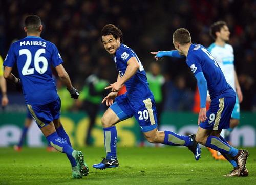 Leicester đang viết tiếp câu chuyện cổ tích mùa này tại Premier League