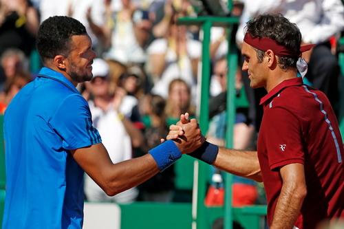 Federer thua Tsonga ở Monte Carlo Masters