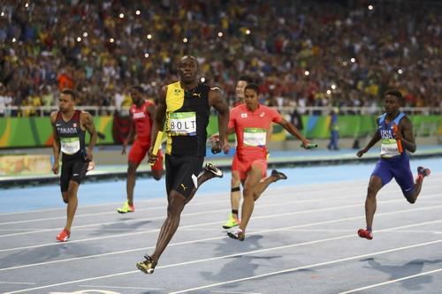Usain Bolt nhận chạy chặng cuối cho tuyển Jamaica