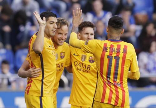 Niềm vui chiến thắng trở lại với MSN và Barcelona