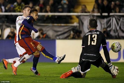 Neymar kém duyên ghi bàn những trận gần đây