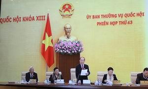Phiên họp thứ 43 của Uỷ ban Thường vụ Quốc hội