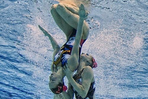VĐV bơi nghệ thuật Svetlana Romashina, HCV Olympic 2008 và 2012, 19 lần vô địch thế giới