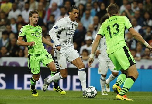 Ronaldo có trận cầu đầy cảm xúc trước đội bóng cũ Sporting