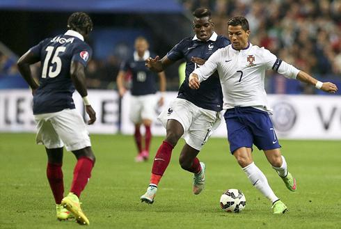 Lần gặp nhau gần nhất, Bồ Đào Nha của Ronaldo đã thua Pháp 0-1