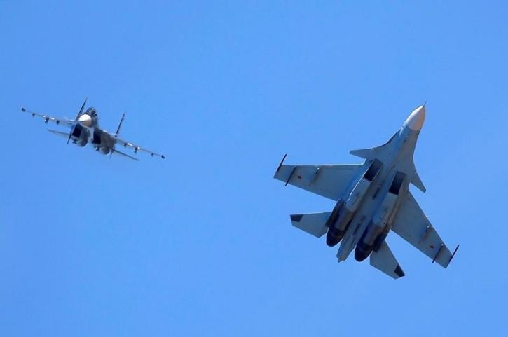 Máy bay Mỹ - Nga có một số cuộc đối đầu từ đần năm đến giờ. Ảnh: REUTERS