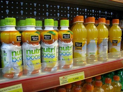 Một số sản phẩm của Coca - Cola Việt Nam thuộc diện bị giám sát