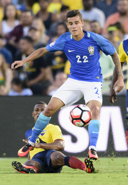 Brazil mất chất samba, hòa nhạt Ecuador