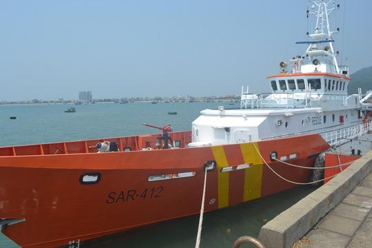 Tàu SAR 412 đã được điều đi cứu nạn - ảnh: Trần Thường