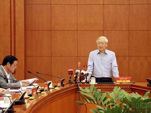 Tổng Bí thư Nguyễn Phú Trọng yêu cầu đẩy nhanh điều tra, xét xử một số vụ án đặc biệt nghiêm trọng