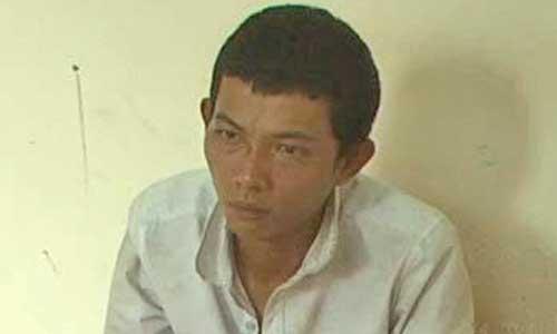Nguyễn Thanh Cơ tại cơ quan công an
