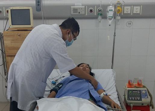 Chị M. được cứu bằng sự xử trí nhanh chóng của tập thể y bác sĩ