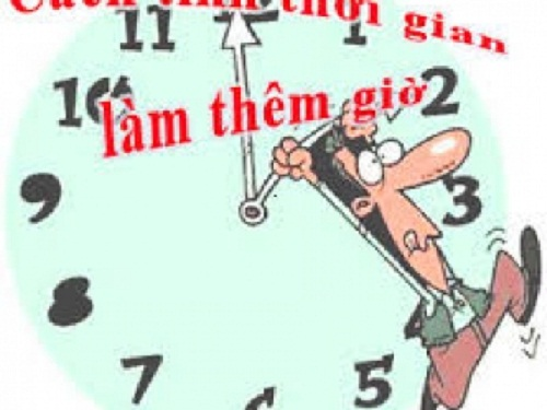 Kéo dài thời gian làm việc, không phải tăng ca