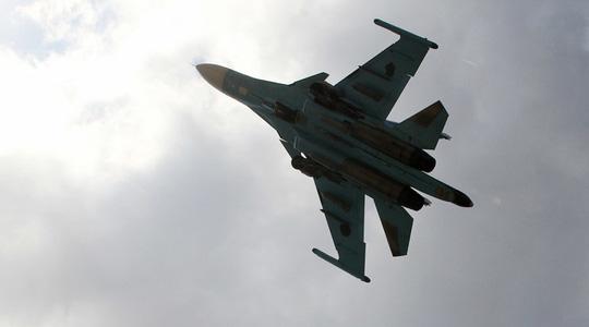 Chiến đấu cơ ném bom Su-34 của Nga. Ảnh: Reuters