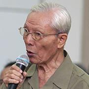 Ông Hồ Quang Chính - cán bộ lão thành cách mạng, cựu chiến binh quận 3, TP HCM:
