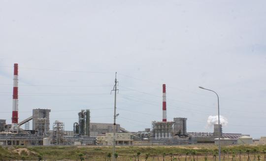 Một phần nhà máy Formosa Hà Tĩnh - ảnh: Đức Ngọc