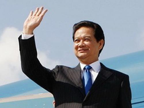 Thủ tướng Nguyến Tấn Dũng sẽ dẫn đầu đoàn đại biểu cấp cao Việt Nam lên đường tham dự Hội nghị Cấp cao đặc biệt ASEAN-Mỹ