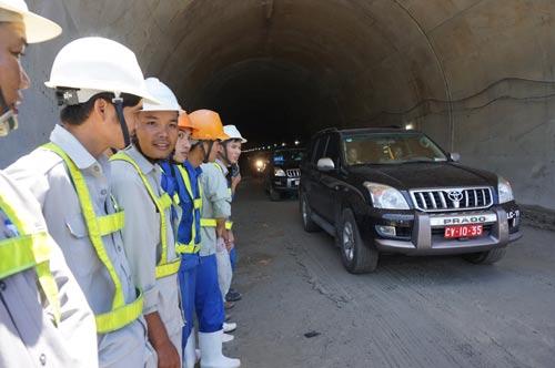 Hầm đường bộ qua đèo Cả chính thức thông xe từ ngày 1-8