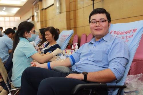 """CNVC-LĐ SAMCO tại ngày hội hiến máu nhân đạo """"Trái tim nhân ái"""" sáng 9-8"""