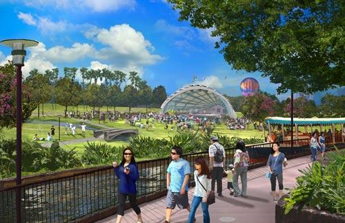 Một góc khu vui chơi ngoài trời của Công viên Kim QuyẢnh: Quang Hiếu