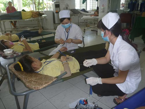 Hàng chục công nhân Công ty TNHH Simone nhập viện cấp cứu do ngộ độc thực phẩm
