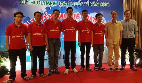 Đội tuyển Việt Nam tham dự IMO 2016 cùng thầy giáo