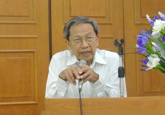 Thiếu tướng Lê Văn Cương - Ảnh: Dương Ngọc