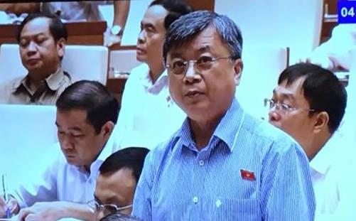 ĐB Trương Trọng Nghĩa cho ý kiến - Ảnh chụp qua màn hình